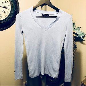 Banana Republic merino wool V- neck sweater